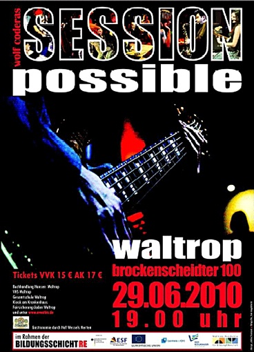 Plakat - Session Possible in Waltrop